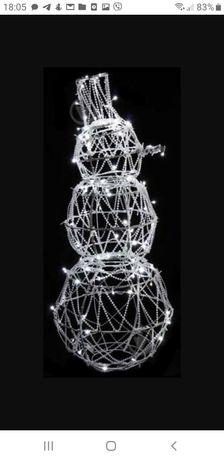 Декоративна фігура LED Сніговик 1069 130 см