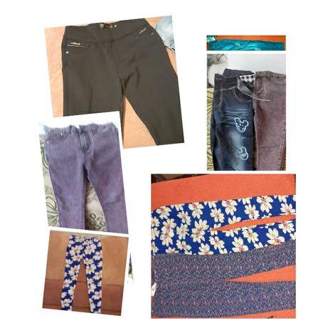 Брюки штаны плотные для девочки
