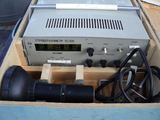 Тахометр стробоскопический,строботахометр ТСт-100 Новый.