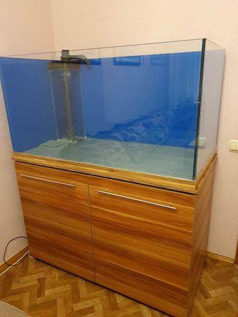 Продам морской аквариум с тумбой и сампом