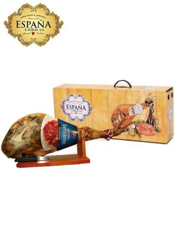Хамон Serrana Reserva 6.5 кг в подарочном наборе