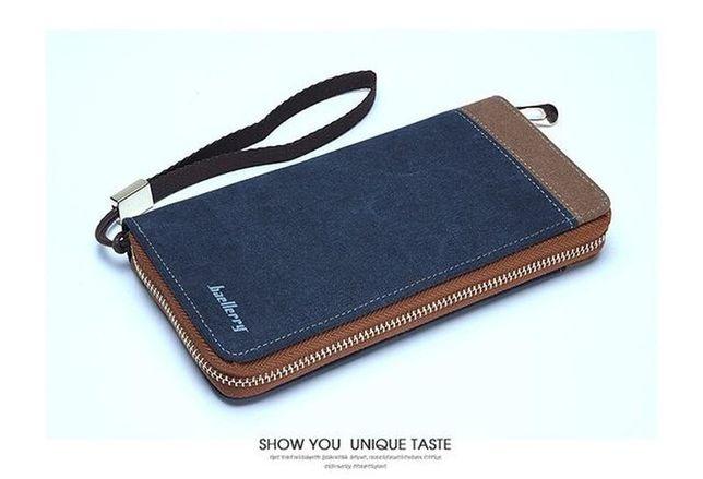 Портмоне кошелек клатч бумажник Baellerry jeans