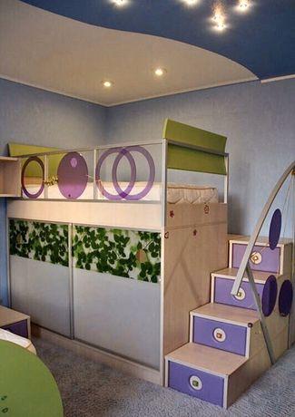 Мебель для детской комнаты. Кровать