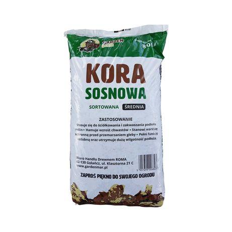 Kora sosnowa SORTOWANA drobna średnia gruba Producent