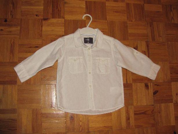 Koszula biała chłopięca H&M rozm. 80