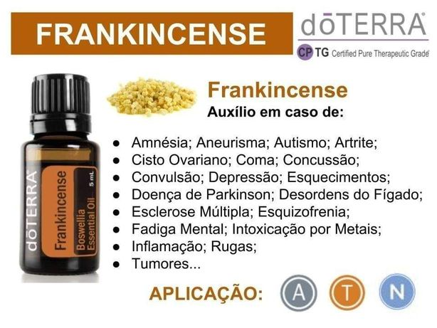 Oleo essencial Frankincense