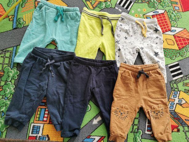 Zestaw spodni dresowych hm, Pepco rozm 74