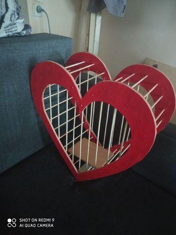 Клетка для голубей на свадьбу. Оригинальная клетка для птиц