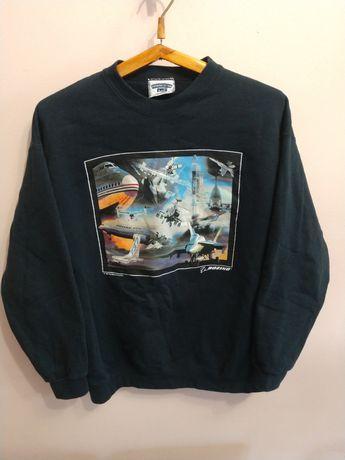 Винтажный свитшот Lee, Boeing 1997