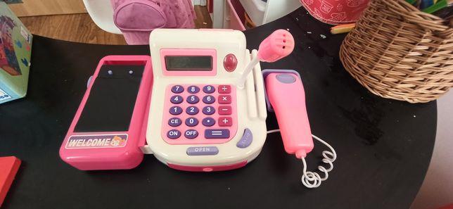 Kasa fiskalna dla dzieci z prawdziwym kalkulatorem
