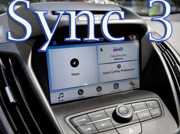 Polskie menu nawigacja Ford Sync 3 Sync 2 Sync 1 z USA na EU