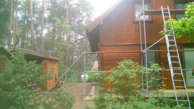 Remonty domków drewnianych,tarasy,elewacje,malowanie,montaż drzwi