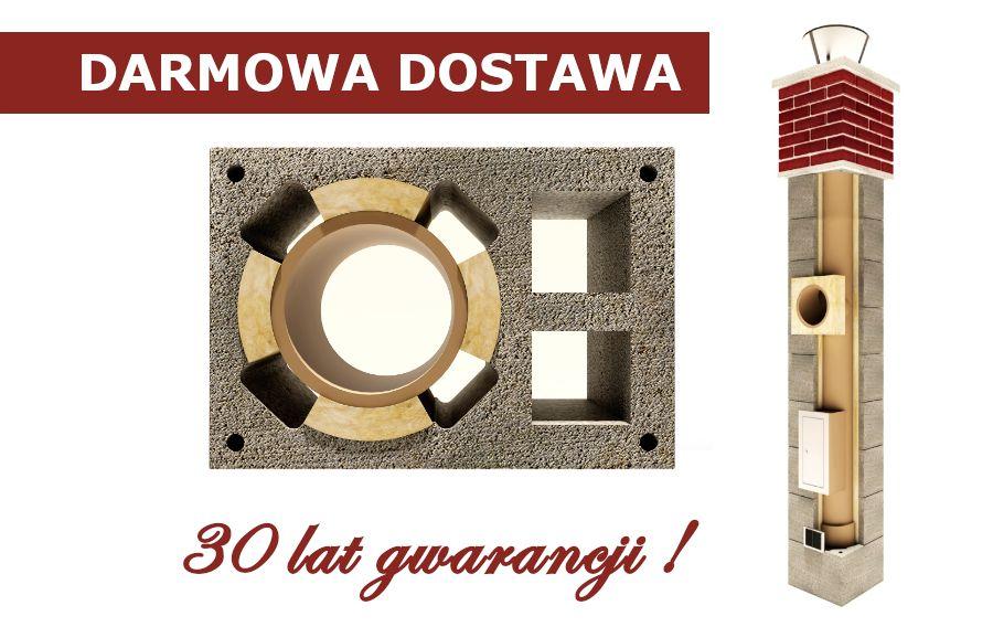 Komin Systemowy 8m KW2 podwójna wentylacja GWARANCJA 30 lat Zambrów - image 1