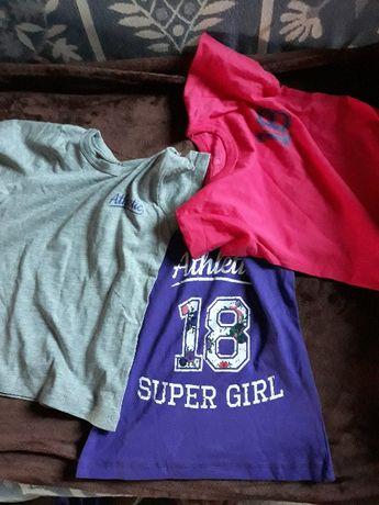 T-shirty dla dziewczynki 92-98