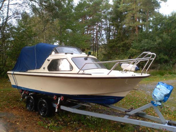 łódz motorowa selco 18 kabina