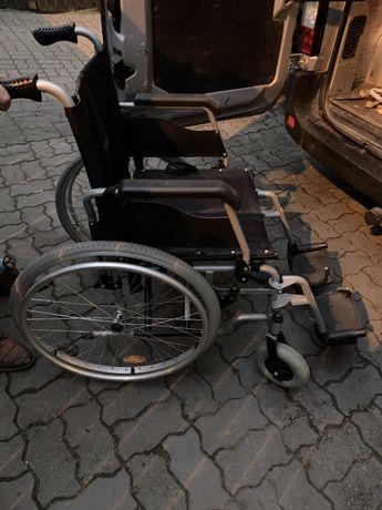 Wózek inwalidzki prawie nowy dowóz