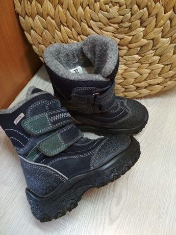 Стильные термо сапоги зимние ботинки сноубутсы Plato 25р. 15см стелька