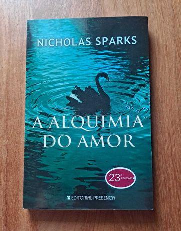 Livro A Alquimia do Amor- Nicholas Sparks NOVO