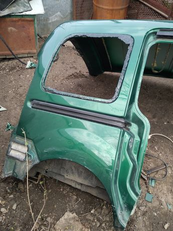 Крило,криша і передок Renault kangoo