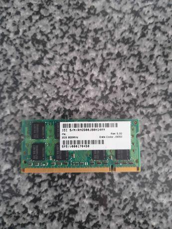 Memórias RAM Samsung 2 GB para Portátil