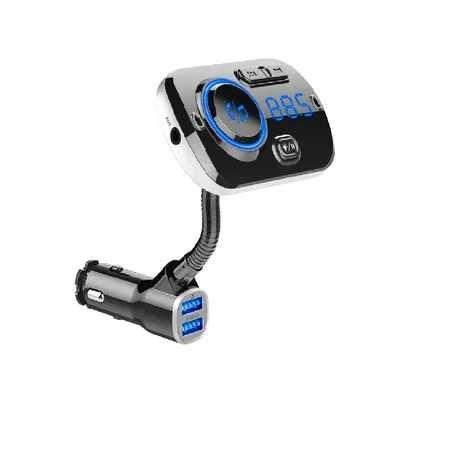 Ładowarka samochodowa, transmiter FM USB Bluetooth MP3 BC49AQ