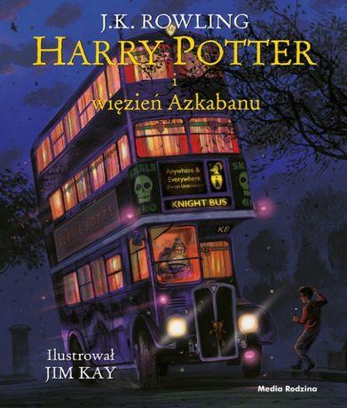 Harry Potter i więzień Azkabanu - ilustrowany - J.K. Rowling