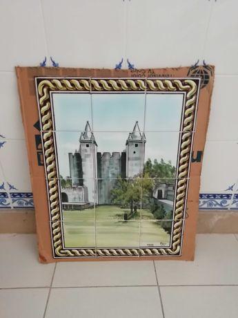 Painel de azulejo pintado à mão 1€/azulejo - últimos