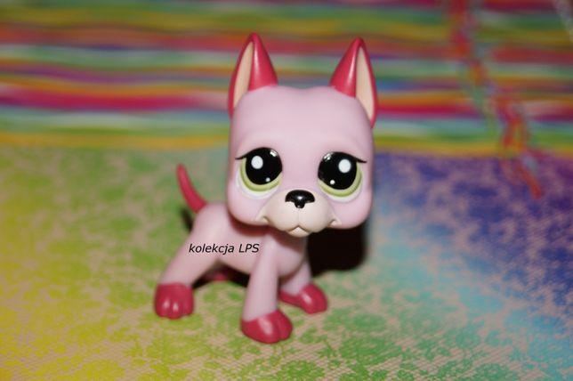 LPS DOG niemiecki #2583 UNIKAT oryginał Littlest Pet Shop oryginalny