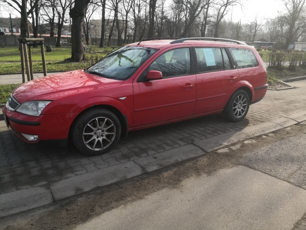 ford mondeo mk3 2005 2,0tdci 115km kombi duze fajne auto red polecam