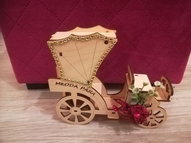 Prezent weselny, zamiast kartki na wesele