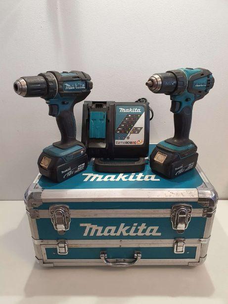 Makita DDF456 DDF482 DC18RC walizka aku
