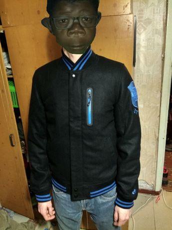 Nike bomber jacket brazil wool осень весна евро зима куртка