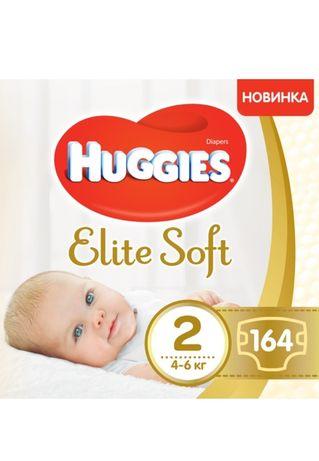 Підгузки Huggies Elite Soft Box 2 4-6 кг 164 шт. Подгузники