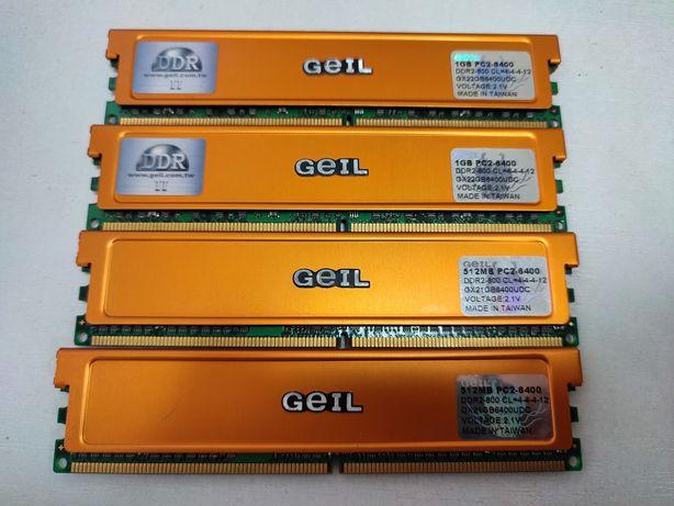 Продам оперативную память DDR2 3 Gb Kit Geil Ultra PC2-6400 800Mhz