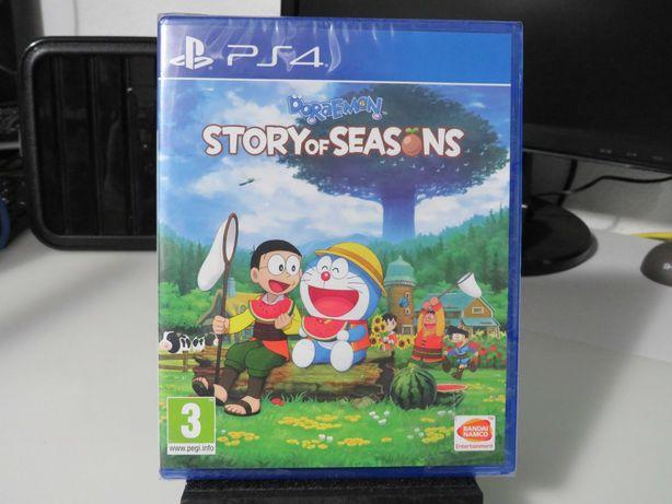 Jogo PS4 Doraemon Story Of Seasons NOVO e SELADO