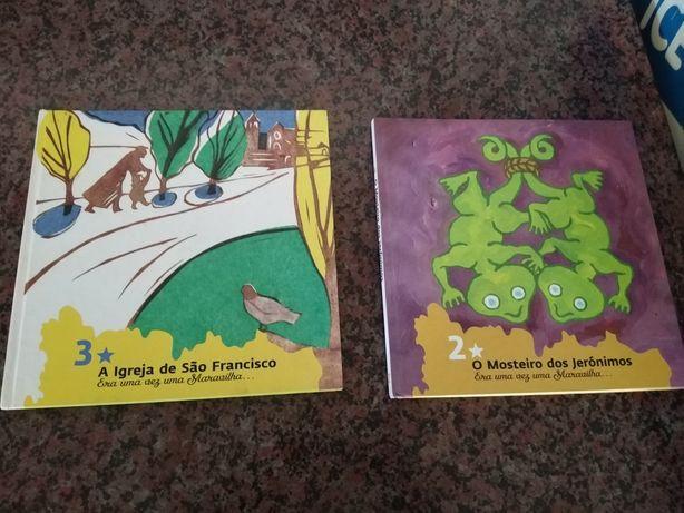 Livros infantis de história