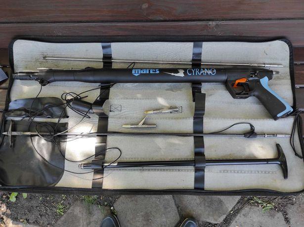 Пневматическое подводное ружье Mares Cyrano 700 с регулятором (Италия)