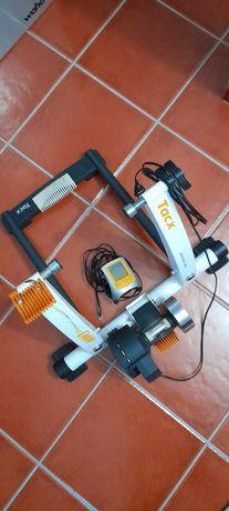Rolo de treino Tacx Flow c/medidor potência