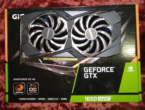 Gigabyte  GeForce GTX 1650 Super Windforce OC 4GB GDDR6