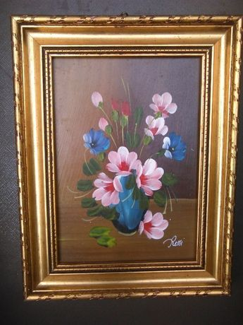 Obraz olejny kwiaty 1