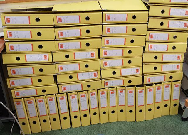 Segregatory biurowe A4