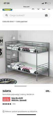 Łóżko piętrowe używane