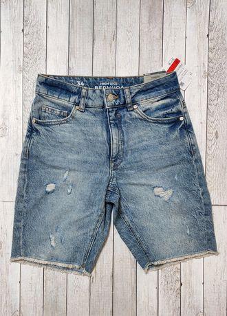 Джинсовые шорты C&A, размер xs.