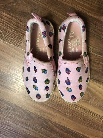 Buty na lato dla dziewczynki, espadryle, rozmiar