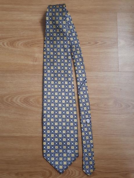 Брендова кравaтка VERSACE винтаж галстук оригінал фірмовий шовковий
