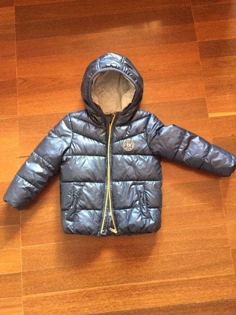 casaco inverno para menina, tamanho 98