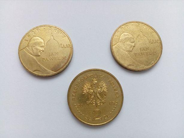 Polska 2 złote, 2005 rok - Papież Jan Paweł II