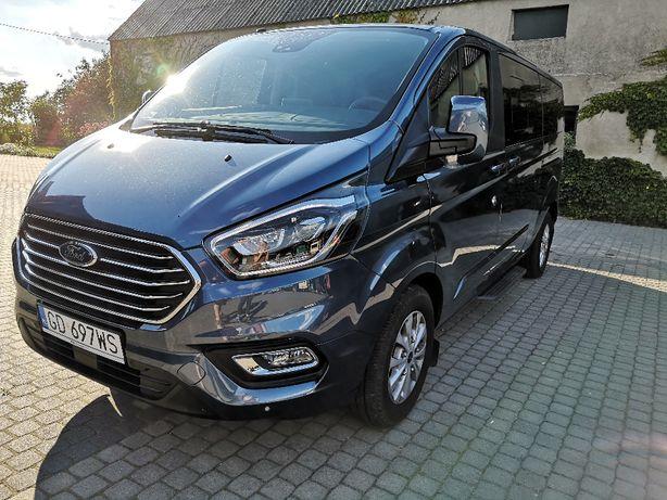 Ford Tourneo Custom - wynajem busa- 8 osobowy