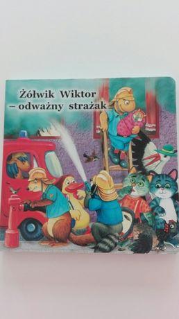 Książka Żłówik Wiktor - odważny strażak.