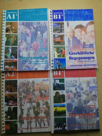 підручник німецька мова Begegnungen усі рівні